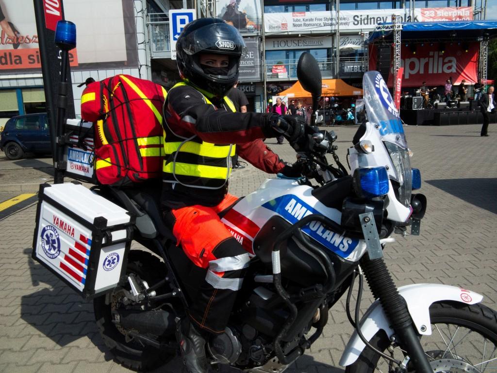 Moto Italia - wsparcie ratownicze podczas pikniku