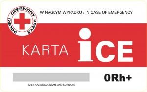 Karta ICE strona A